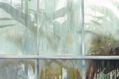 Botanischer Garten Duisburg, Oil on Canvas * 200 x 110 cm | 79 x 43 inch