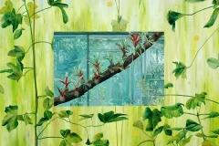 Botanischer Garten Duisburg, Oil on Canvas * 160 x 200 cm | 63 x 79 inch