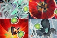 CanCan, Oil on Canvas * 190 x 210 cm   75 x 83 inch