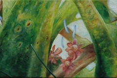 Untitled, Oil on Canvas * 25 x 70 cm   9,5  x 27,5 inch